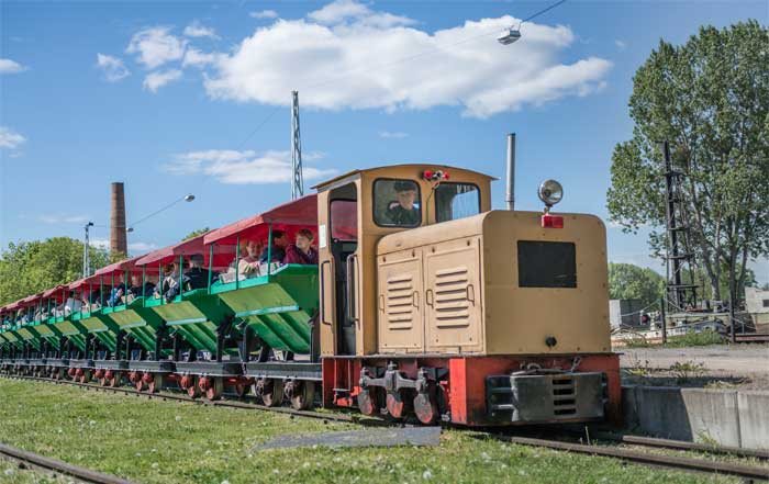 Tonlorenbahn Ziegelei Mildenberg